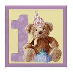 Teddy Bear 1 Tile Coaster