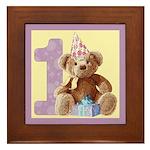 Teddy Bear 1 Framed Tile