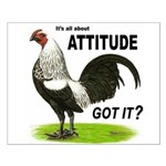 It's About Attitude Small Poster