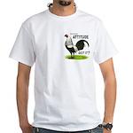 It's About Attitude White T-Shirt