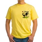 It's About Attitude Yellow T-Shirt