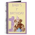 Teddy Bear 1 Journal