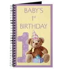 Teddy Bear 1 Journal