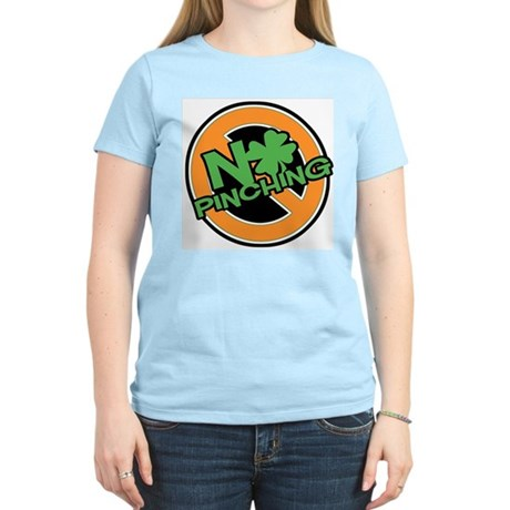 No Pinching Shamrock Women's Light T-Shirt