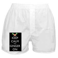 keep ginger black Boxer Shorts