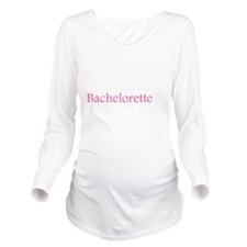 orchid_pink_bachelor Long Sleeve Maternity T-Shirt