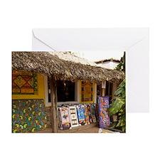 Viva Wyndham Dominicus Beach Greeting Card
