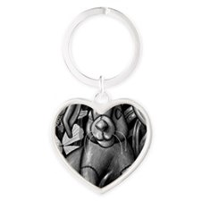 velveteen rabbit new copy Heart Keychain