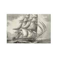4.5x2.5_patch_USSconstitution Rectangle Magnet