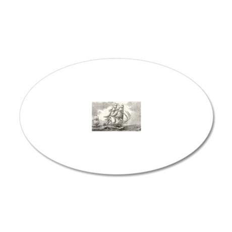 4.5x2.5_patch_USSconstitutio 20x12 Oval Wall Decal