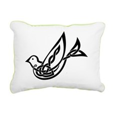 alone dove Rectangular Canvas Pillow