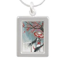 Kindle Sleeve Samurai Wo Silver Portrait Necklace