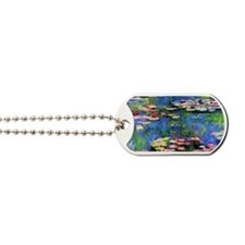 MONETWATERLILLIESprint Dog Tags