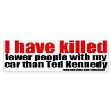 Ted Kennedy Bumper Bumper Sticker