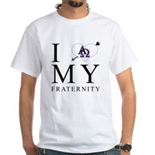 I Love My Fraternity - Front Shirt