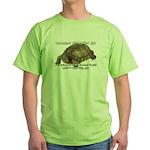 Valuable Pet Lesson #6 Green T-Shirt
