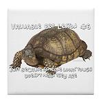 Valuable Pet Lesson #6 Tile Coaster