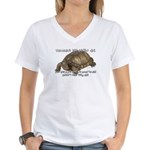 Valuable Pet Lesson #6 Women's V-Neck T-Shirt