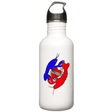 lobster love big.gif Water Bottle