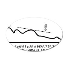 I wish I was a derivative so Wall Decal