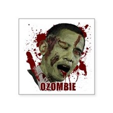 "Ozombie Square Sticker 3"" x 3"""