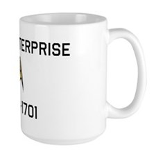 USS ENTERPRISE Mug