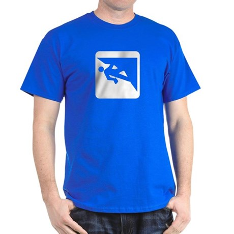 Climbing Guy Icon Dark T-Shirt