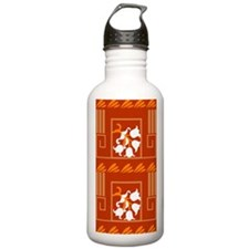 lilyofthevalleyGreeksm Water Bottle