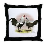 Birchen OE Bantams Throw Pillow