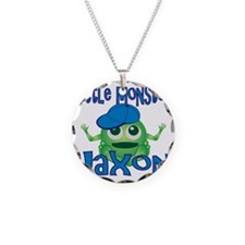 jaxon-b-monster Necklace Circle Charm