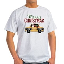 Merry Christmas Taxi T-Shirt