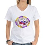 Scrapbooking and Cooking Women's V-Neck T-Shirt