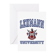 LEHMANN University Greeting Cards (Pk of 10)