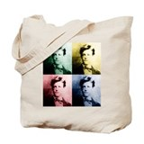 Rimbaud Pop Art Tote Bag