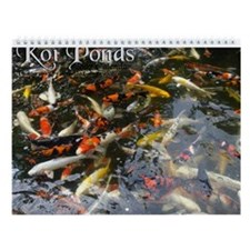 Koi Ponds 2007 Wall Calendar