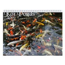 Koi Ponds 2007 Wall Calendar