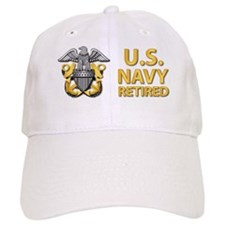 U.S. Navy Retired Baseball Cap