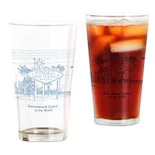 LasVegas_12x12_Wmn_plusscoop_front_ Drinking Glass