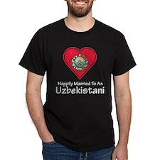 Happily Married Uzbekistani T-Shirt