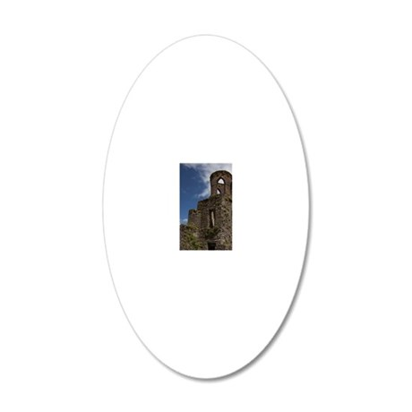 Ruins of the Blarney Castle 20x12 Oval Wall Decal