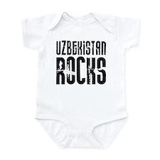 Uzbekistan Rocks Infant Bodysuit