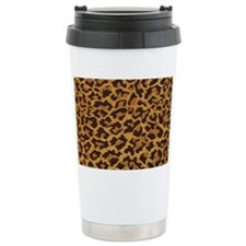 leopardlicenceplatefull Ceramic Travel Mug