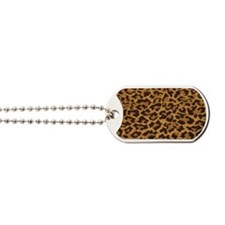 leopardlicenceplatefull Dog Tags