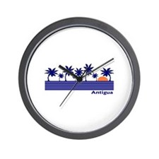 Unique Antigua and barbuda Wall Clock