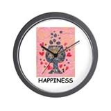 Wall Clock - Happiness