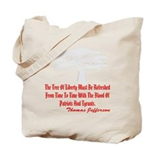 blk_Tree_of_Liberty_2003 Tote Bag