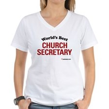 World's Best Church Secretary Shirt