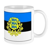 Estonia w/ coat or arms Small Mugs