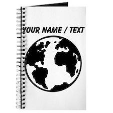 Custom Planet Earth Journal