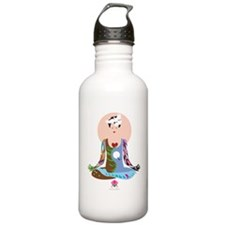 Lotus Blossom Sports Water Bottle